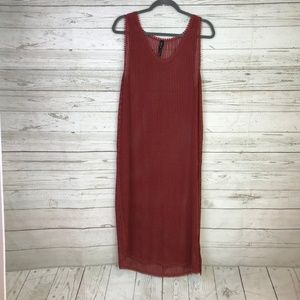 Out from Under maxi hole dress beach cover up S UO